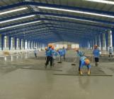 Xây dựng phần thô nhà xưởng tại Bắc Ninh