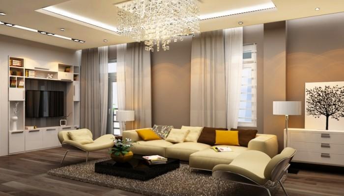 Thiết kế nội thất phòng khách tại Bắc Ninh