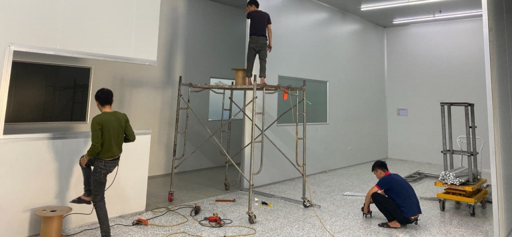 Thi công vách ngăn panel tại Ninh Bình