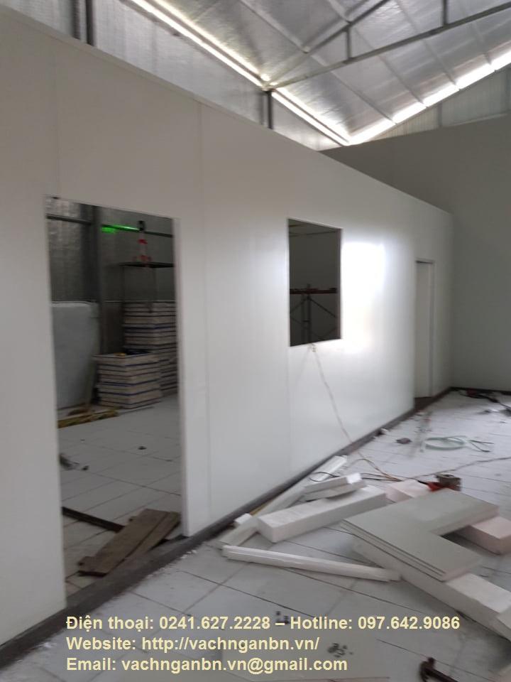 Vách ngăn Panel, tường Panel, Trần Panel tại Quảng Ninh